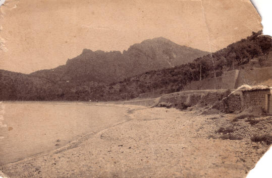 Port de Sóller devers finals de 1890. Visita virtual a Sóller i el port fent clic aquí